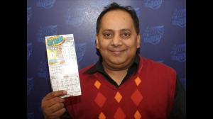 Urooj Khan.Illinois Lottery photo.