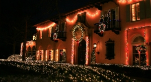Cuneo Light Show. Loyola photo.