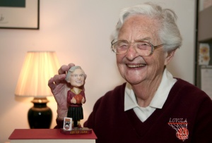 Sister Jean Delores Schmidt. Loyola photo.