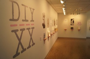 DIY/XX is on display at the Ralph Arnold Gallery through Jan. 17. Photo by Lauren Hames.
