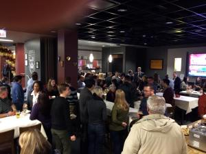 Ireland's Pub opened to a VIP reception last week at the Damen Student Center. Photo from Ireland's Facebook page.